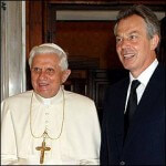 Tony Blair on 'coming out' as a Catholic
